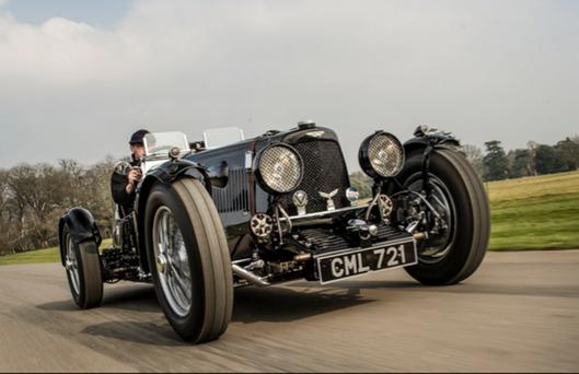 The 1935 Aston Martin Ulster racing car, which competed in the Ards TT race, has sold for over £2.9 million at an auction in England.