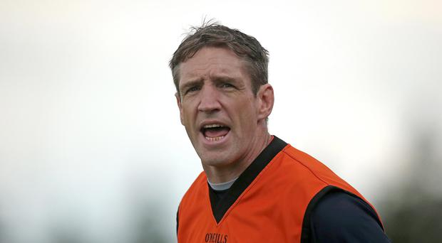 Clear aim: Kieran McGeeney wants to see a clinical edge