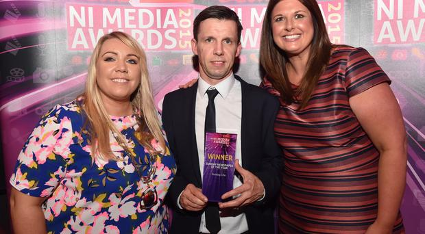 The Coca-Cola CIPR NI Media Awards 2015 at the MAC Theatre, Belfast.