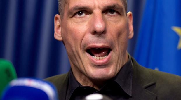 Greek finance minister Yanis Varoufakis said his government was still fighting for there to be a last-minute deal. (AP Photo/Virginia Mayo)