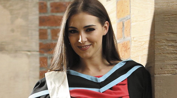 Former Miss Ireland Rebecca Maguire graduates from Queens with a masters in Pharmacy