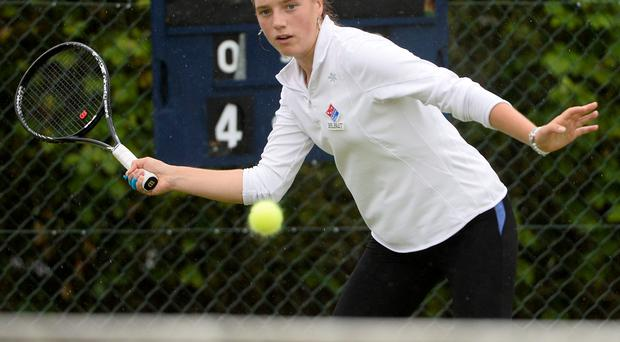 Karola Bejenaru missed out on her dream of competing at Wimbledon this year