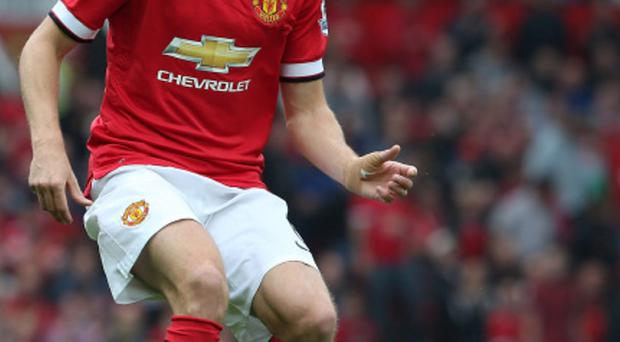 Jonny Evans does not figure in Man Utd manager Louis van Gaal's future plans