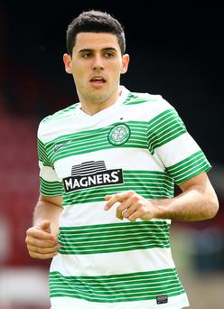 Injury woes: Tom Rogic hoping to kick-start his Celtic career
