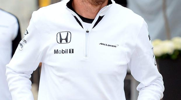McLaren driver Jenson Button is out-of-contract at the end of the season