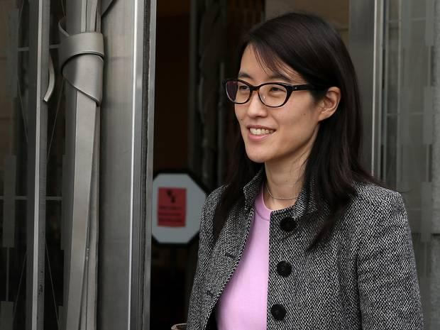 Reddit CEO Ellen Pao. A number of high-profile subforums had 'gone dark' in protest after Ms Pao fired Victoria Taylor, a popular member of staff