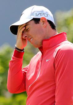 Rory McIlroy has revealed he is reeling from an injury that could cost him an agonising £2 million