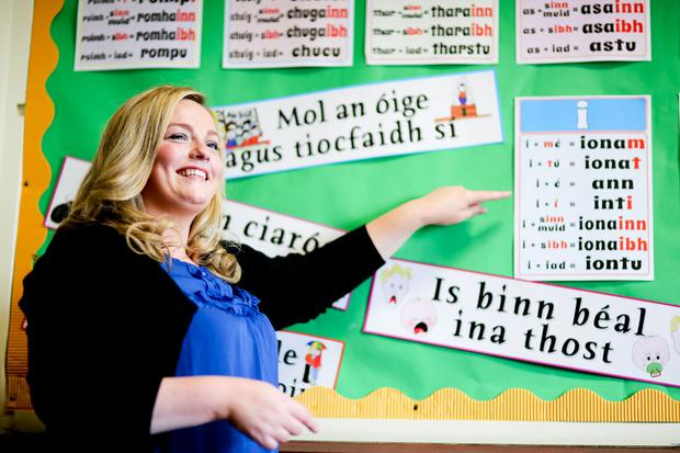 Angela Crimmins, who is graduating from Ulster University today with a first class honours degree in Irish Language and Literature. Pic By Paul Moane/Aurora