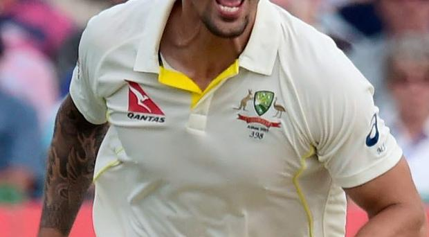Major threat: Mitchell Johnson can be a major threat