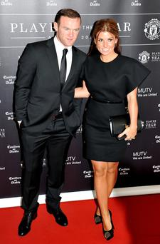 Joy: Wayne and Coleen Rooney