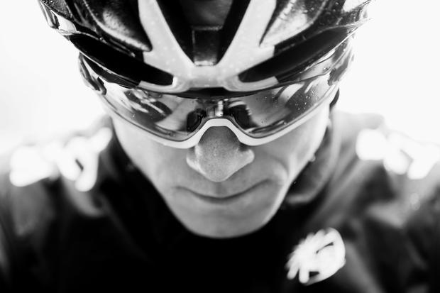 Chris Froome of Great Britain and Team Sky prepares to race (Photo by Bryn Lennon/Getty Images)