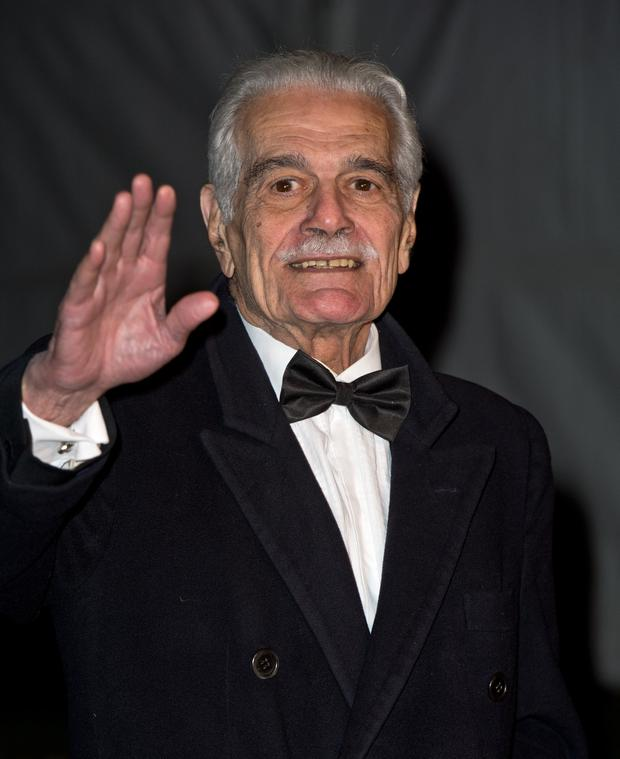 Omar Sharif has died aged 83. (Photo by Zak Hussein/Getty Images)