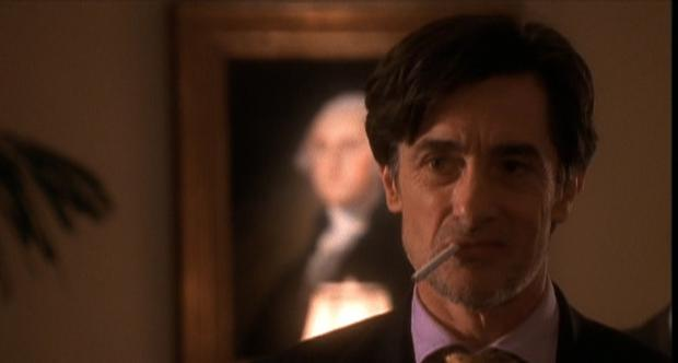 Robert Rees as Lord John Marbury in the West Wing. Source: NBC
