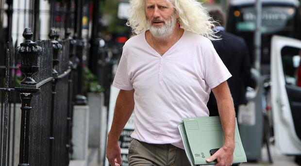 Mick Wallace, independent deputy for Wexford. Pic Tom Burke 24/6/2015