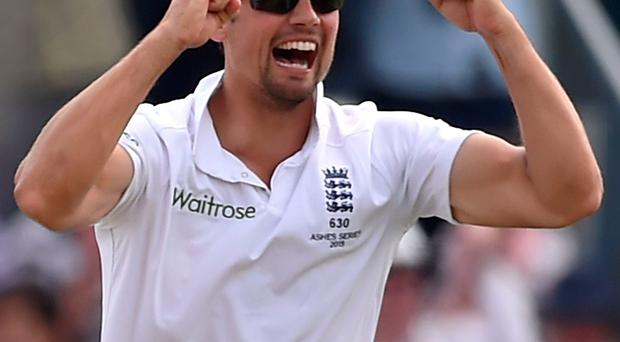 England captain Alastair Cook's performance in the First Ashes Test was flawless