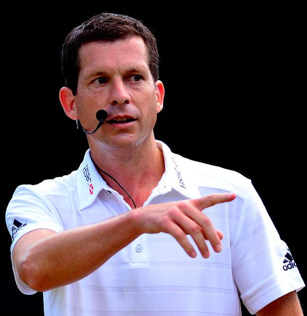 First class: Tim Henman heaped praise on the new champion