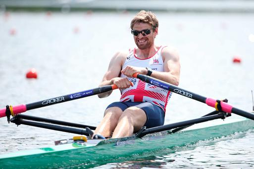Making waves: Alan Campbell clinched bronze in Switzerland