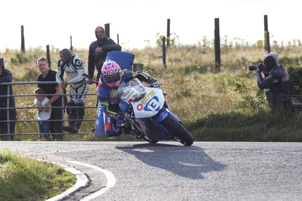 Speedy Lee: Lee Johnston is out to justify his tag as one of the rising stars of road racing with a win at the 2015 Ulster GP