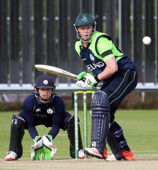 T20 International, Bready Cricket Club, Co. Tyrone 18/6/2015 Ireland vs Scotland Ireland's Kevin O'Brien Mandatory Credit ?INPHO/Presseye/Barry Chambers