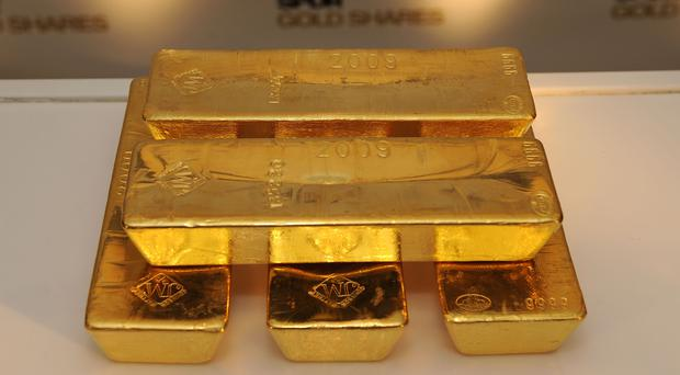 The gold bars recovered were of 24 carat purity