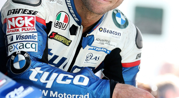 Gearing up: Guy Martin will ride a 650cc Supertwin for Cookstown B.E Racing at the Armoy Road Races
