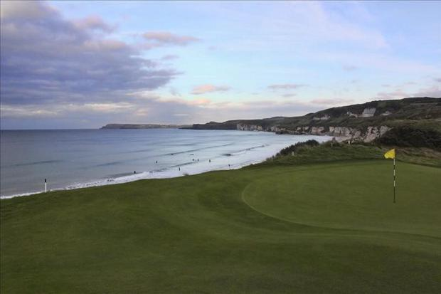 Royal Portrush, where the North of Ireland Amateur Championships are taking place