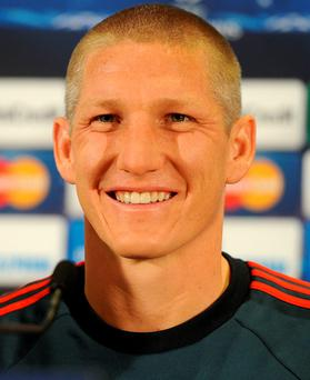 Class act: Wayne Rooney has hailed Bastian Schweinsteiger