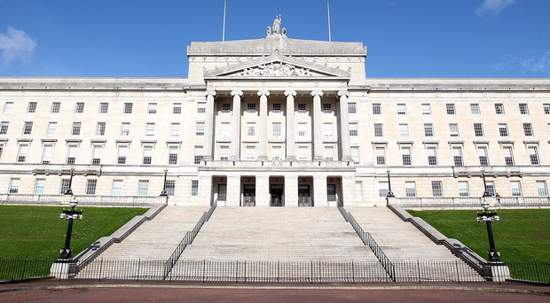 Sinn Fein leader Gerry Adams used the 'P' word on Wednesday - precarious. And Secretary of State Theresa Villiers used the 'G' word - grave. They were both talking about Stormont and the uncertain future of the political institutions