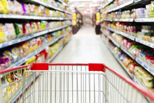 A fierce supermarket price war has pushed down the cost of groceries for consumers