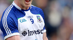 Play up: Colin Walshe wants Monaghan to step up a gear