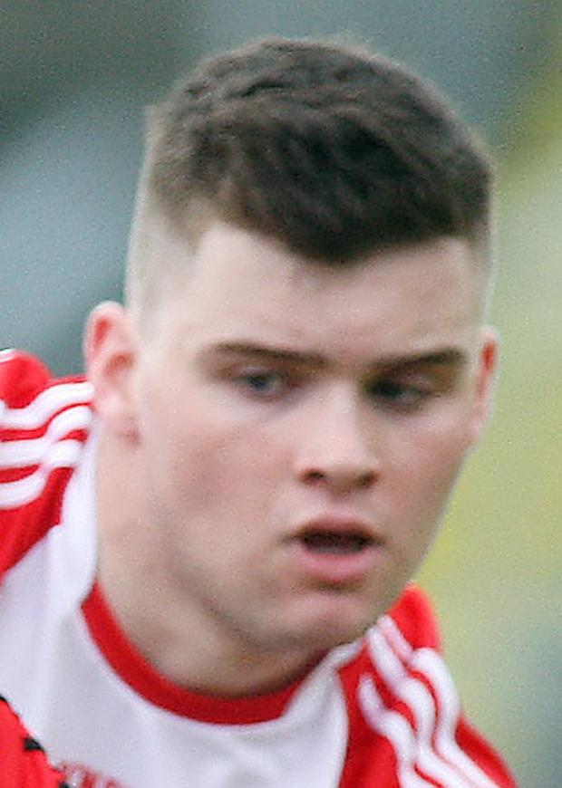 Defence: Derry's Fergal Higgins will be key