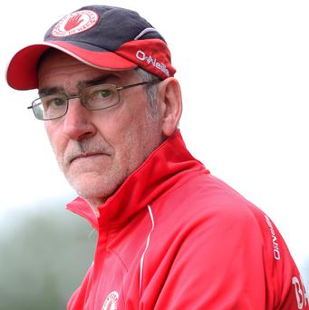 Perfect timing: Mickey Harte believes his Red Hands will come to the fore in due course