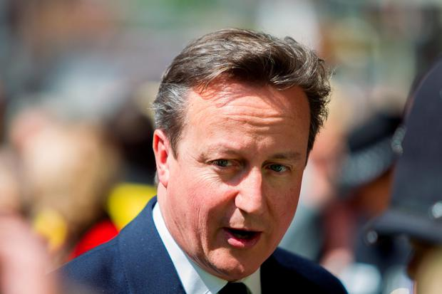 Prime Minister David Cameron has pledged to help America