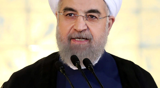Iran's President Hassan Rouhani; following the announcement of a nuclear deal, the country could increase its oil exports, flooding a market where supply is already outstripping demand