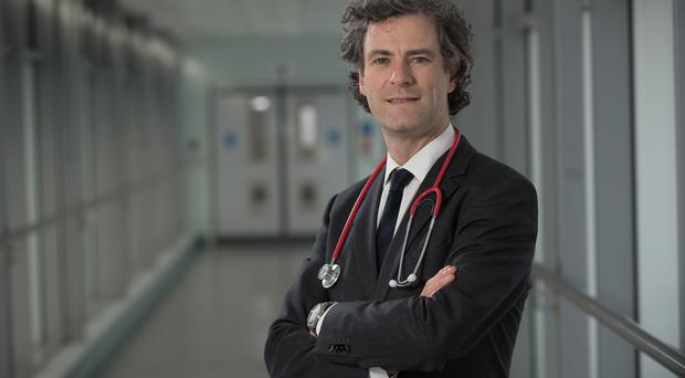 Doctor hook: Prof Joe O'Sullivan likes to relax by writing songs