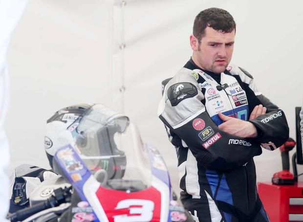 Some of the biggest names in road racing are among them, including local hero Michael Dunlop