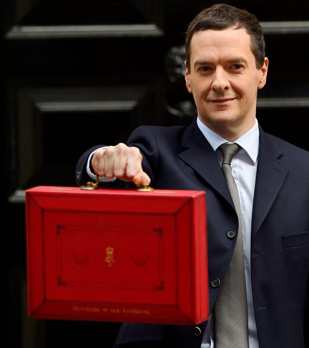 The figures for public sector borrowing are the first to be released since Chancellor George Osborne's budget two weeks ago