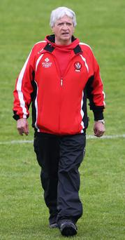 Brian McIver can be credited with many positives from his time as Derry manager