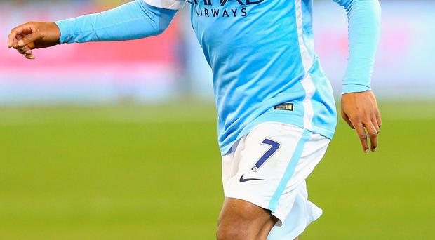 Raheem Sterling scored within three minutes of his Man City debut