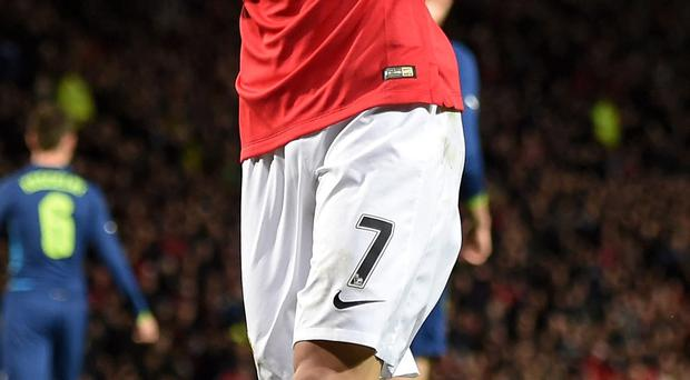 Nightmare: Angel di Maria has had a difficult time at Old Trafford since his £59.7m move last year