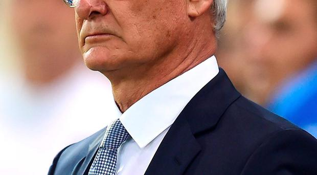 Markarian was hired after Greece sacked Claudio Ranieri (pictured)