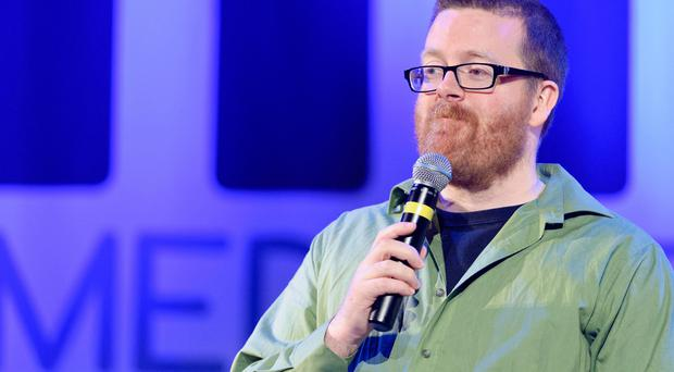 Controversial: Comedian Frankie Boyle
