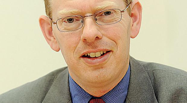 Dr Esmond Birnie said that levels of house ownership in Northern Ireland were falling rapidly