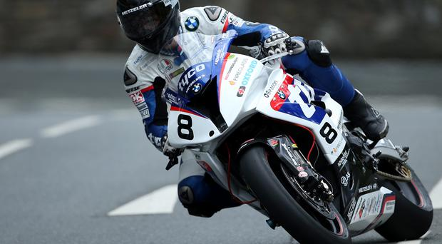 Busy Guy: Tyco BMW's Guy Martin will have a full weekend at the Armoy Road Races after confirming his involvement in the Supersport races