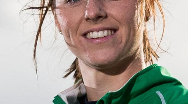 Megan Frazer grabbed a goal as Ireland booked their spot in the European top-flight