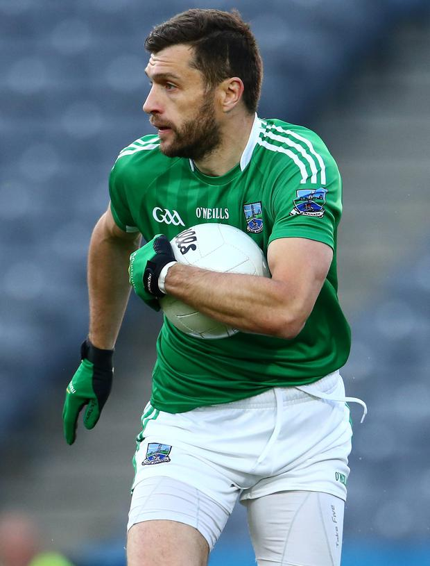 On the up: Ryan McCluskey is aiming to help Fermanagh through to All-Ireland quarter-finals