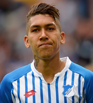 Raring to go: Roberto Firmino is excited by his new venture