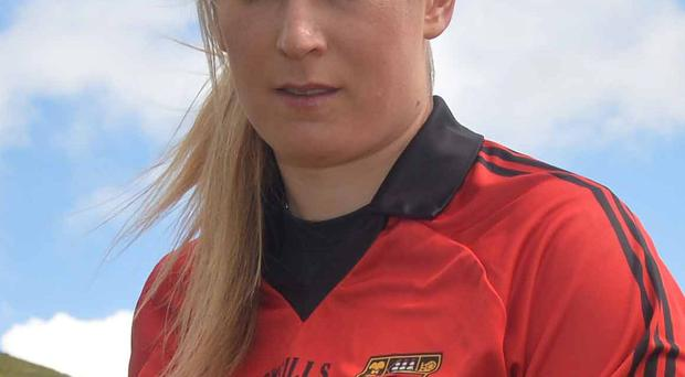 Catherine McGourty, who has been in the limelight this week, will be one of the Down players looking to challenge Cork