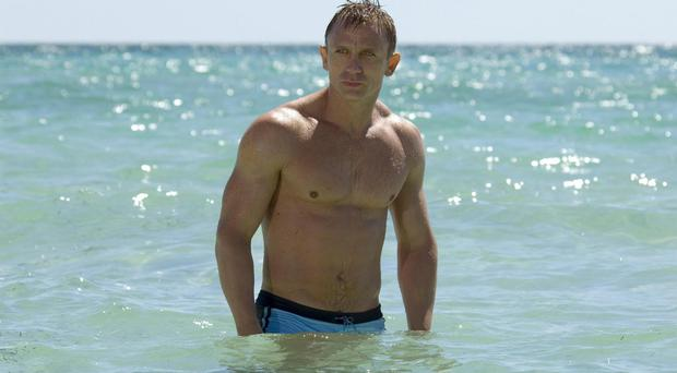 Undated Film Still Handout photo from new Bond Film Casino Royale (21st in the series). Pictured: Daniel Craig as James Bond