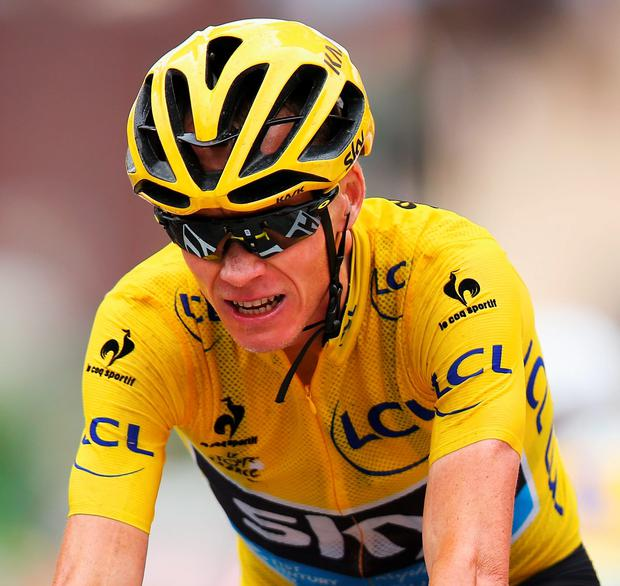 Chris Froome is edging closer to Tour de France glory